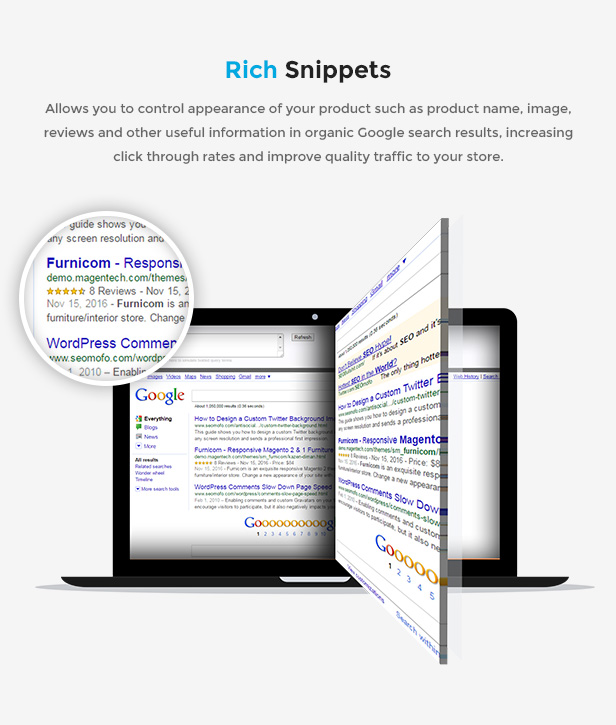 Responsive Magento 2.0 Theme - Rich snippets