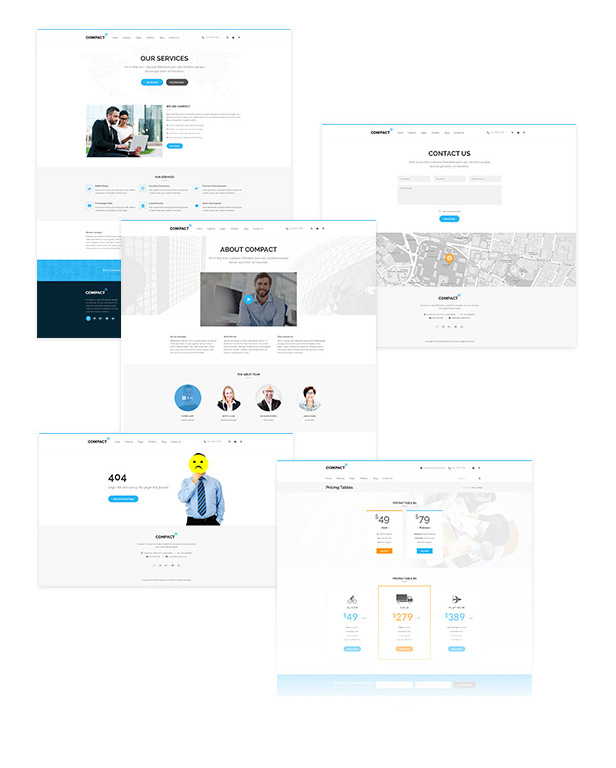 Compact - Corporate Multipurpose WordPress Theme