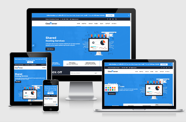 Download CloudServer | Responsive HTML5 Technology, Web
