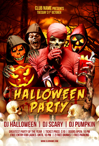 Salsa Party Flyer Template - 28