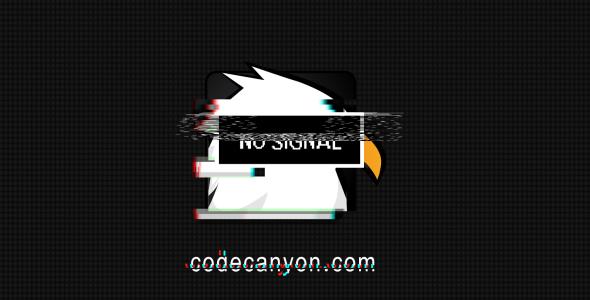 Grunge Glitch Logo Reveal - 6