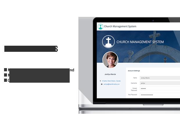 church membership settings module