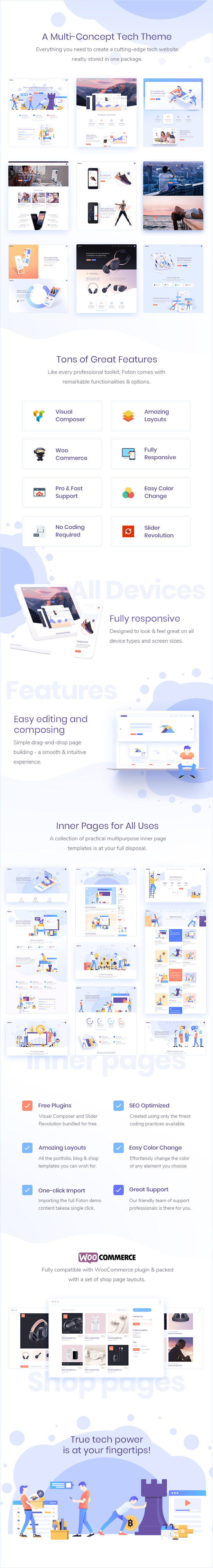 Foton - A Multi-concept Software and App Landing Theme - 1