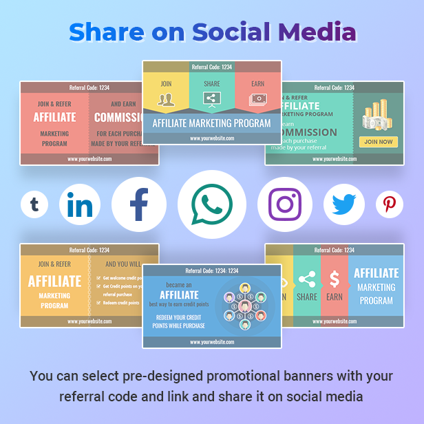 Easy to social sharing