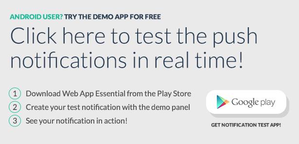 Geo Push Web Panel iOS & Android - 2