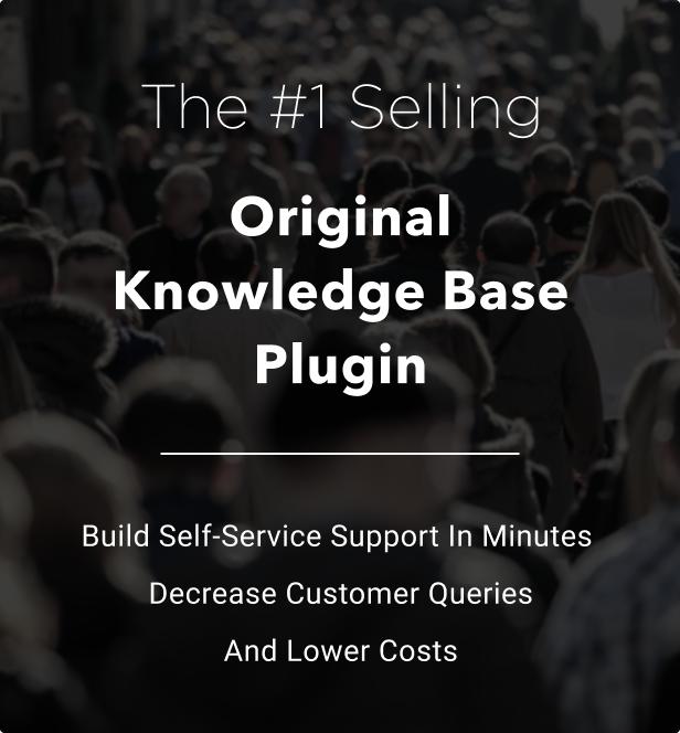 Knowledge Base   Helpdesk   Support   Wiki WordPress Plugin - 2
