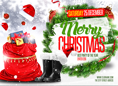 Christmas Holiday Flyer V3 - 18