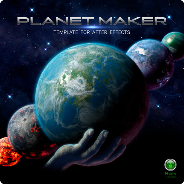 Videohive Planet Maker 22194026