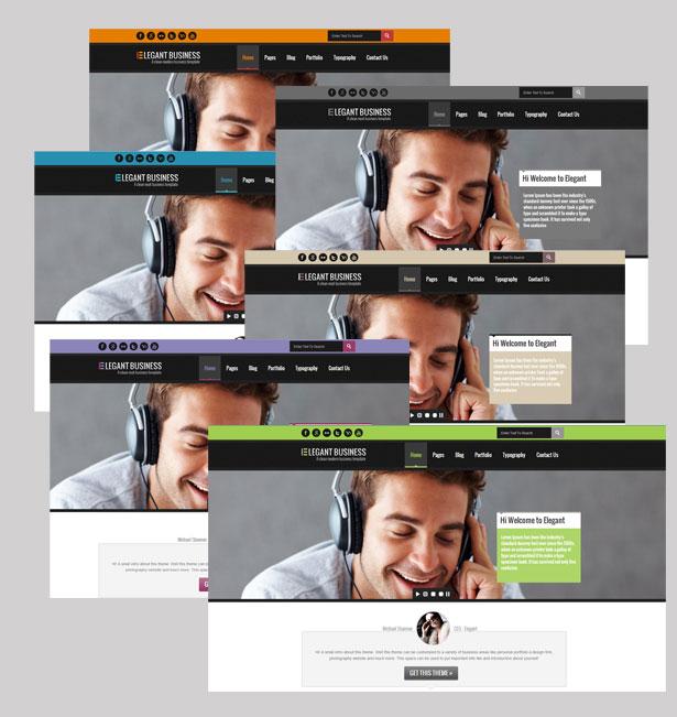 Elegant Business - Responsive HTML - 4