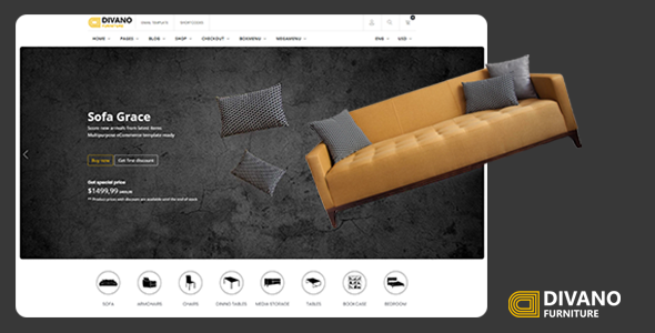 Divano - Furniture HTML Template