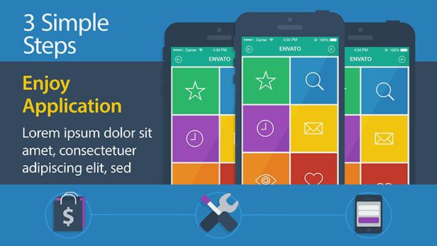 Mobile App Landing Page Promo - 7