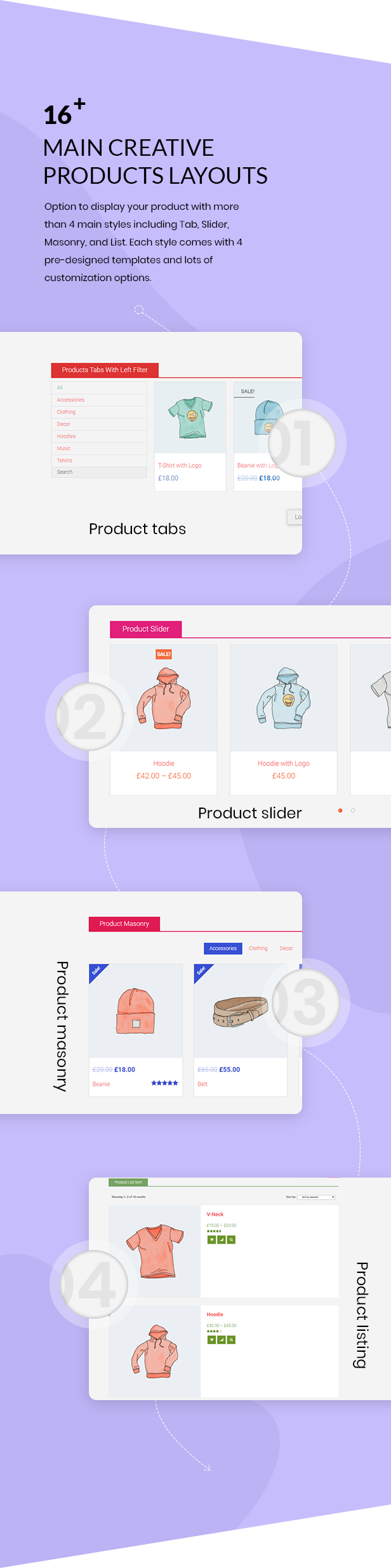 Noo Products Layouts - WooCommerce Addon for Elementor Page Builder - 2