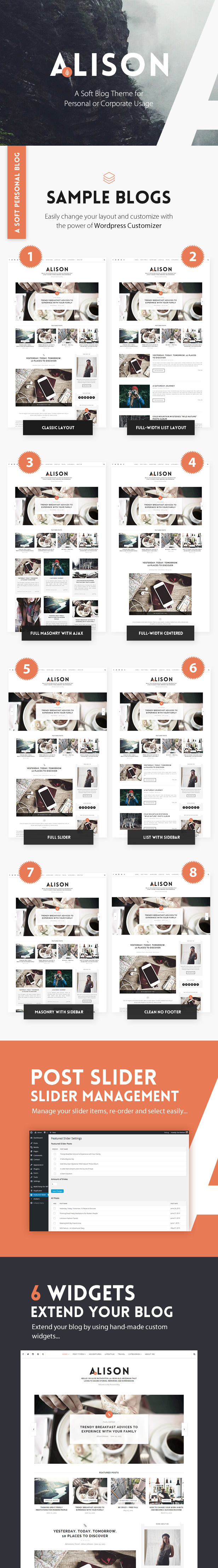 Anne Alison - Soft Personal Blog Theme by angrygorilla | ThemeForest