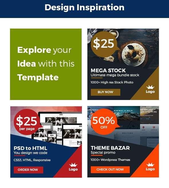 Multipurpose Promo Web Banner