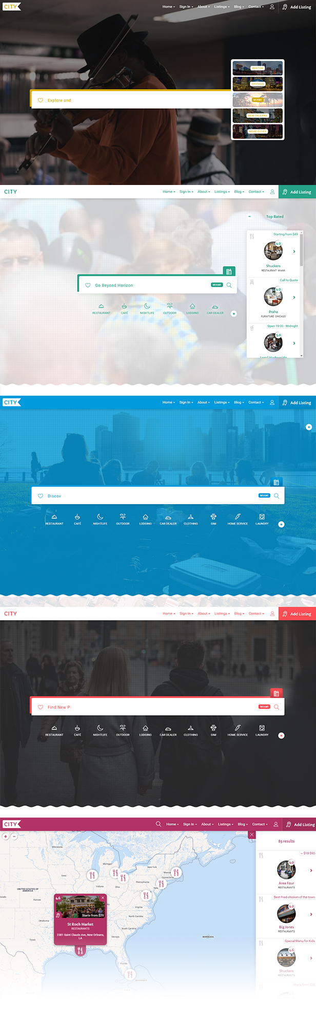 City Listing - Directory Template - 5