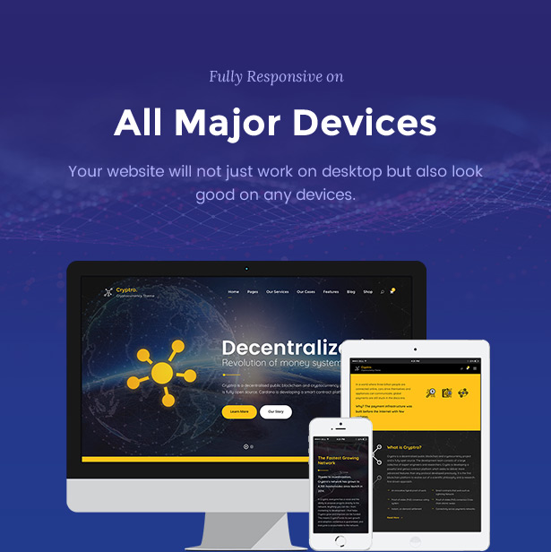 Cryptro - Cryptocurrency, Blockchain , Bitcoin & Financial Technology WordPress Theme - 7