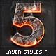 100 Layer Styles Bundle - Text Effects Set - 8