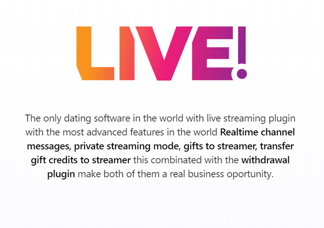 Live Streaming Plugin - Belloo Dating Software - 1
