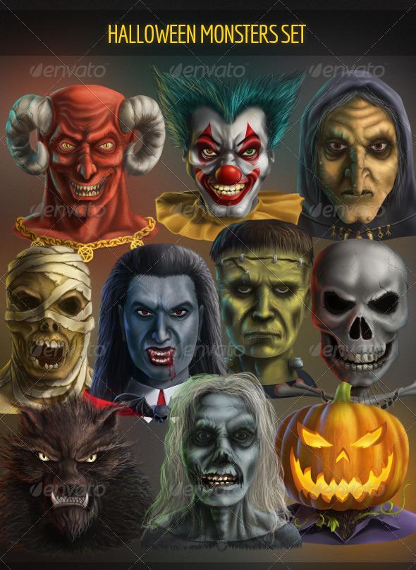 Halloween Set - 2
