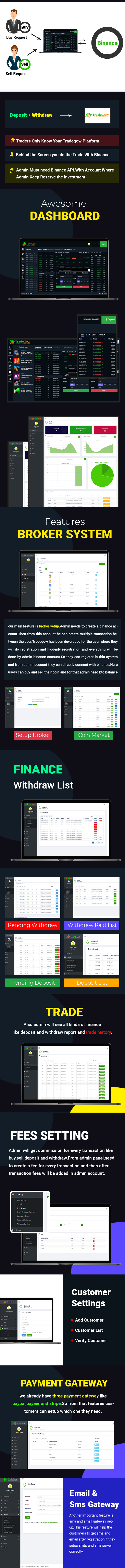 TradeGow - Cryptocurrency Trading Marketplace - 1