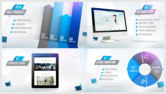 Website or Company Promotion - 1