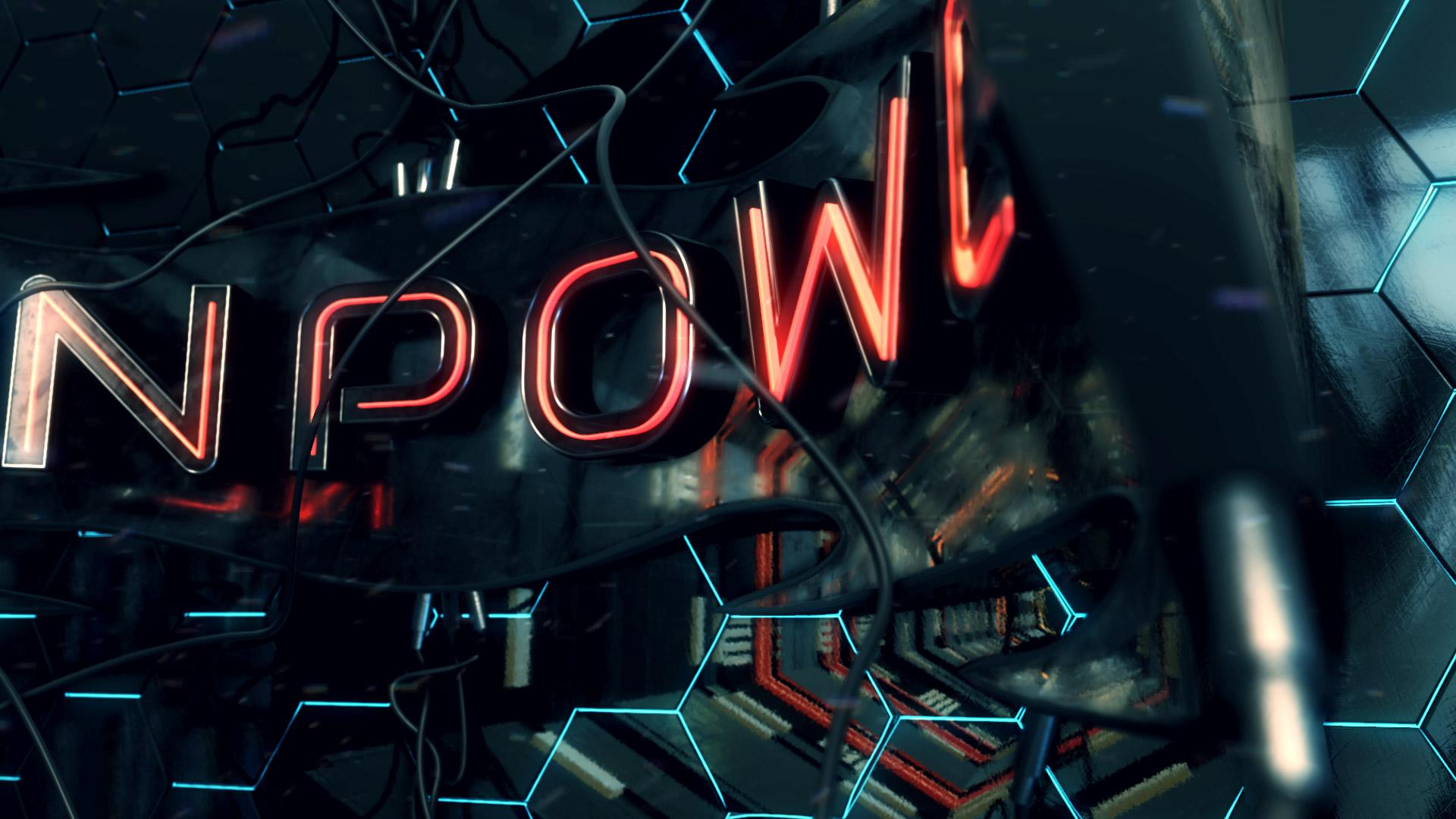 Neon Power Logo Opener - 3