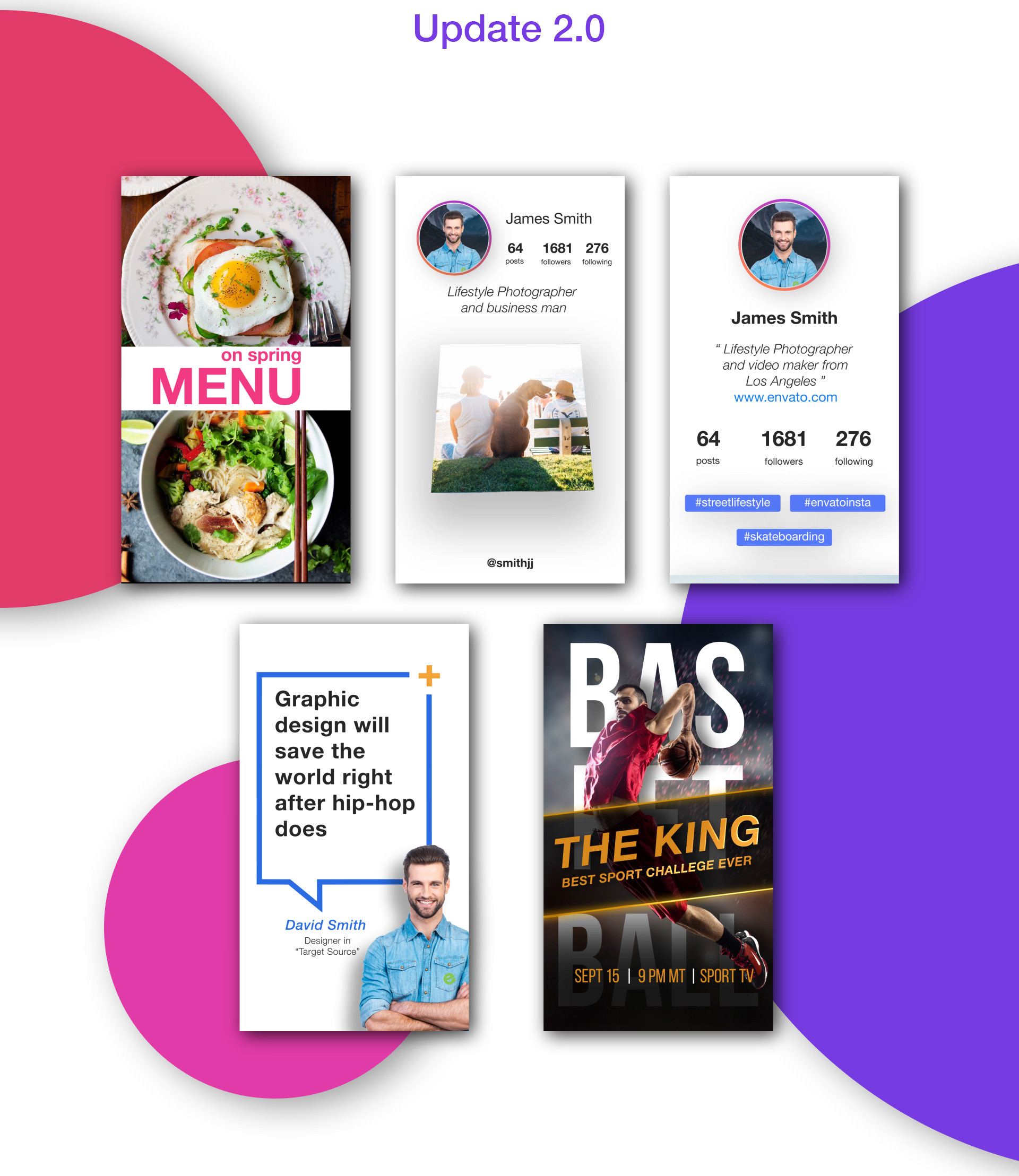Animated Stories Kit // Instagram, Snapchat, Facebook - 14