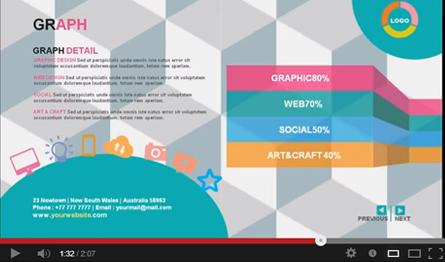 gstudio creative cv presentation templateterusawa | graphicriver, Modern powerpoint