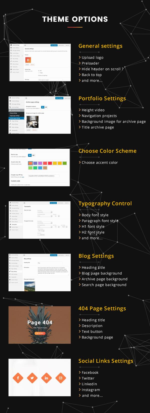 Domior - Creative Personal Portfolio WordPress Theme - 6