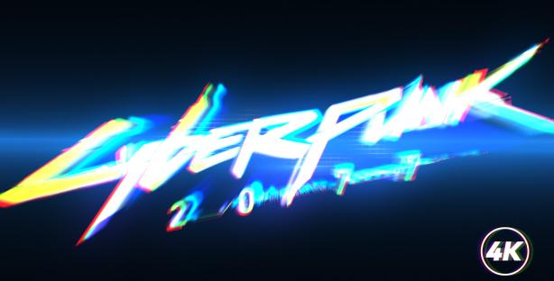 Fast-Glitch-Logo-Intro