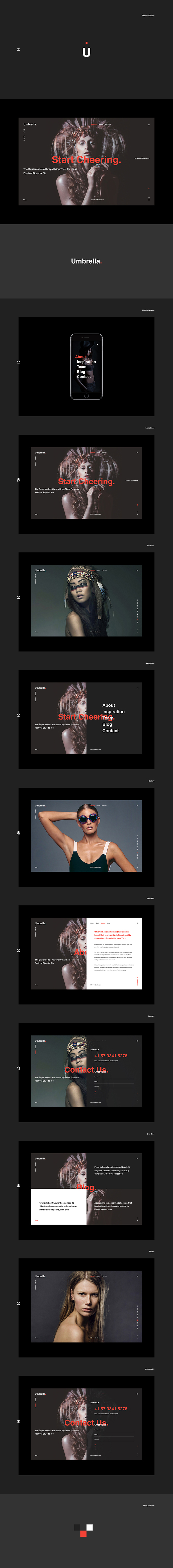 Umbrella - Photography WordPress Theme. - 2