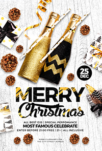 Christmas Holiday Flyer V3 - 5