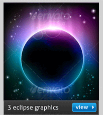 vector eclipse background