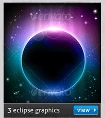 vector eclipse background
