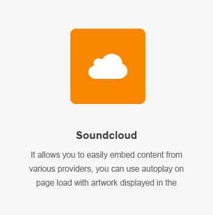 Soundcloud Element