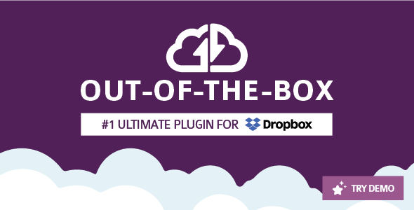 Out-of-the-Box | Dropbox plugin for WordPress - CodeCanyon Item