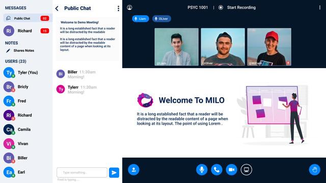 Milo - Video Conference (Web + iOS + Andriod) - 7