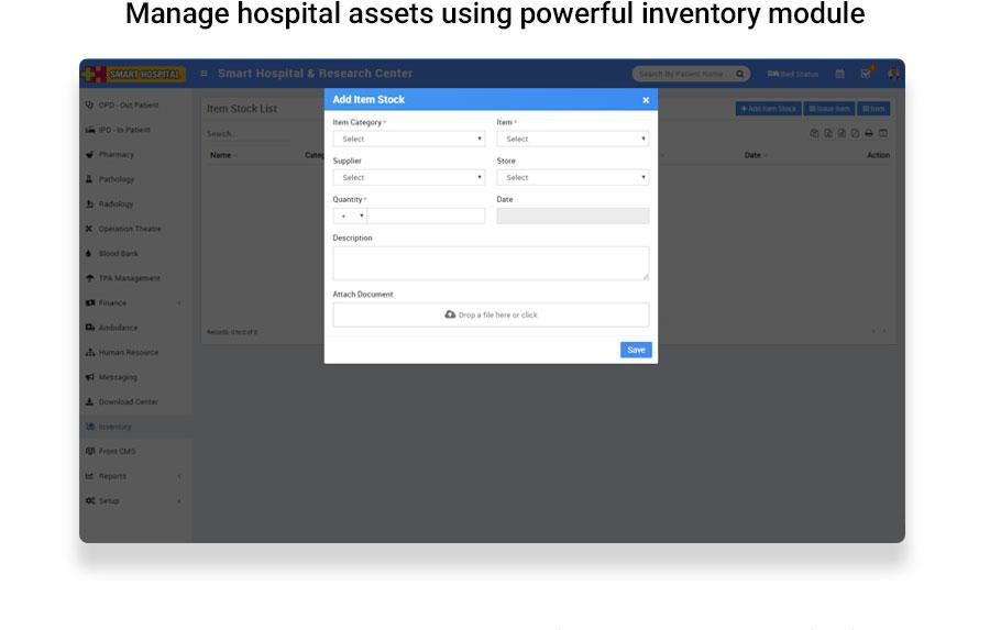 Smart Hospital : Hospital Management System - 17
