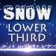 Snow Lower Third 2 - 13