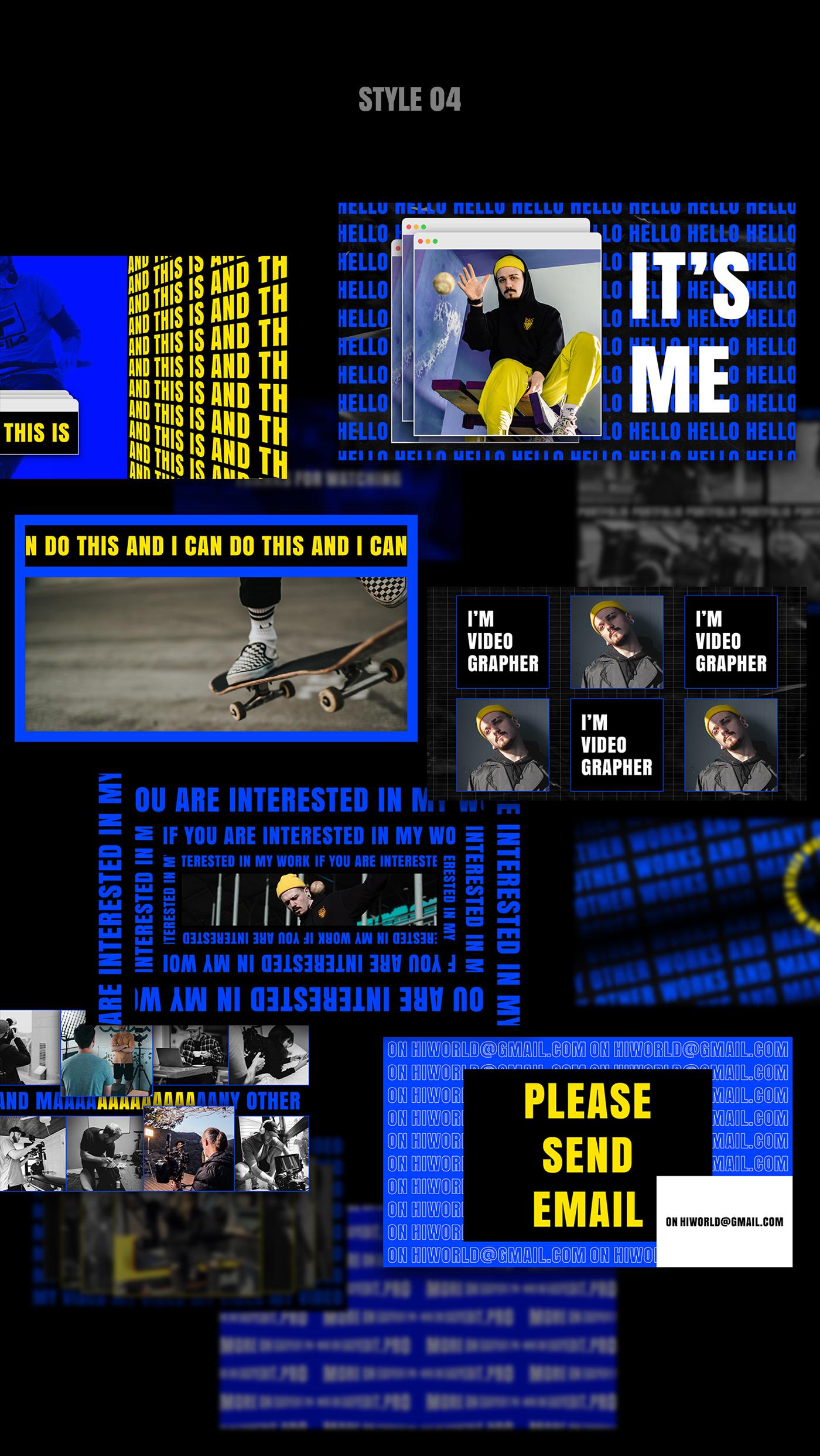 AE脚本-200多个创意文字标题排版时尚宣传视频包装动画工具包 Kinetic Social Pack for Win/Mac破解版插图11