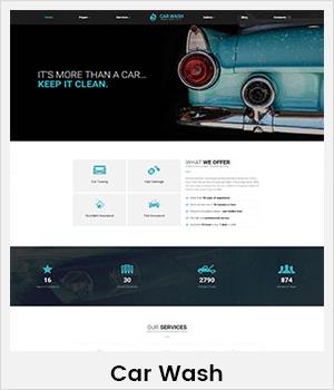 CarWash WordPress theme