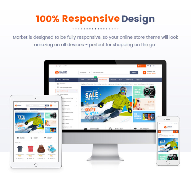 Best Magento 2 Themese - homepage