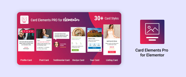Card Elements Pro for Elementor