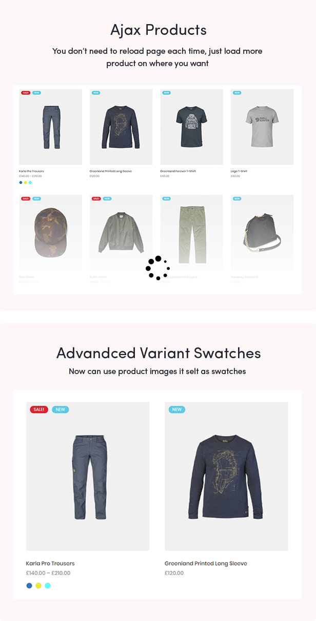 Eveland – Modern AJAX enabled WooCommerce theme (RTL Supported) 54