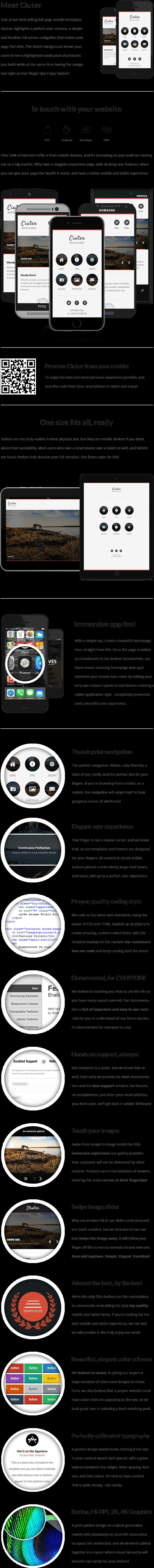 Ciuter Mobile   Mobile Template - 8