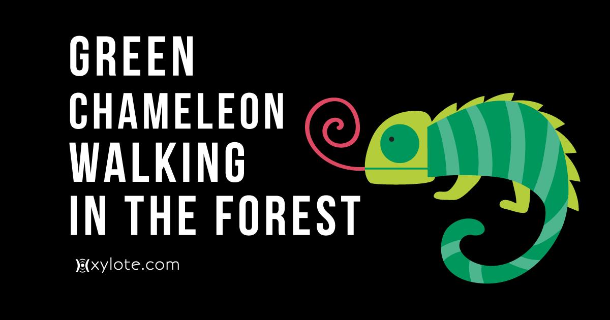 Green Chameleon Nature Documentary Music