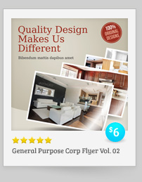 2 Corporate-Style Flyer/Ads Templates - 5