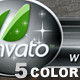 5 Color Corporate Lower Third - 30