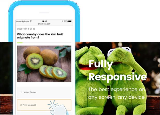 Viral Quiz Maker — OnionBuzz for WordPress - 3