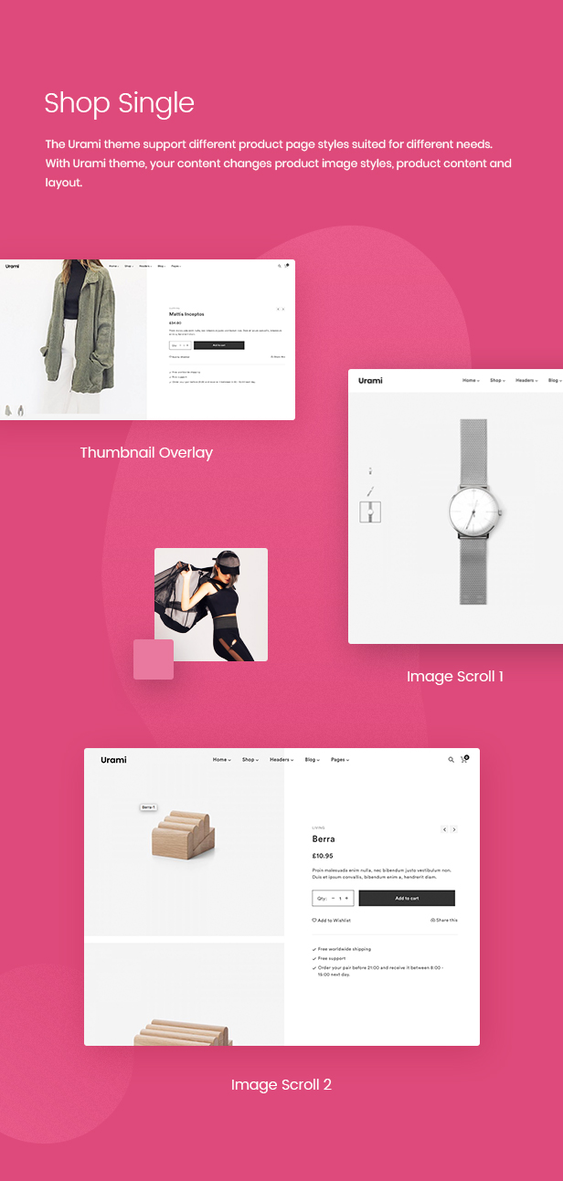 Urami WP - Modern minimalist WooCommerce theme - 6